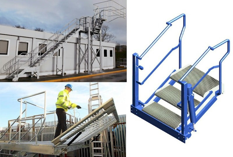 Tanker Access Systems Folding Stairs Platforms And