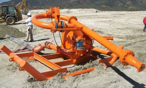 Mining swivel Chile